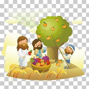 Bible Christianity Cartoon Illustration PNG