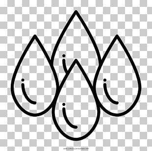 Drop Drawing Water Black And White Coloring Book PNG