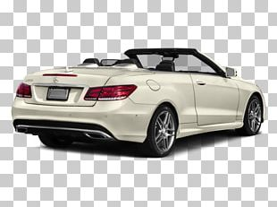 2017 Mercedes-Benz E550 Personal Luxury Car Convertible PNG