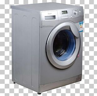 Washing Machine Haier Home Appliance Laundry PNG