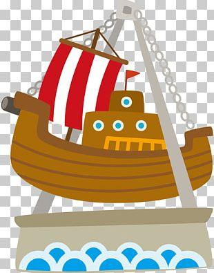 Pirate Ship Amusement Park PNG