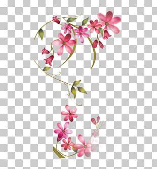 Floral Design Dream Red Flower PNG