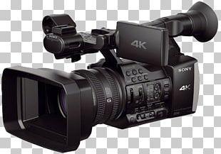 Sony Handycam FDR-AX1 4K Resolution Video Cameras PNG