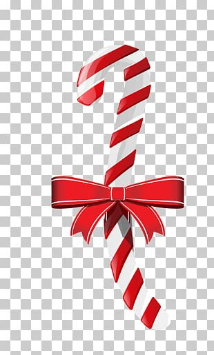 Candy Cane Lollipop Santa Claus Candy Christmas Gummi Candy PNG