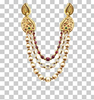 Jewellery Necklace Gemstone Earring Chain PNG