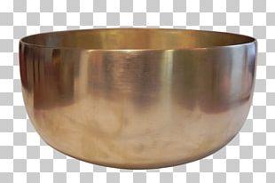 Bowl Standing Bell Harmonic Brass PNG