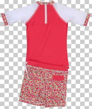 Shoulder Sleeve Nightwear Pink M Collar PNG