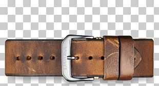 Belt Buckle Watch Strap Leather PNG