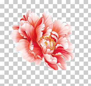 Floral Design Flower Painting In Watercolor Peony Chinese Painting PNG
