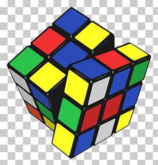 Rubiks Cube Professors Cube PNG