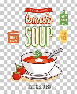 Menu Soup Food PNG