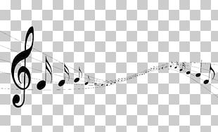 Musical Note Black And White PNG