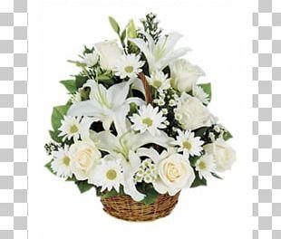 Floristry Basket Flower Delivery Funeral PNG