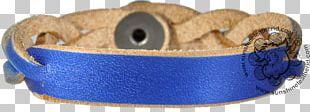 Watch Strap Bracelet Cobalt Blue PNG