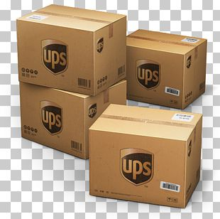 Box Cardboard Package Delivery PNG