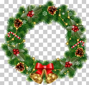 Wreath Christmas Decoration PNG