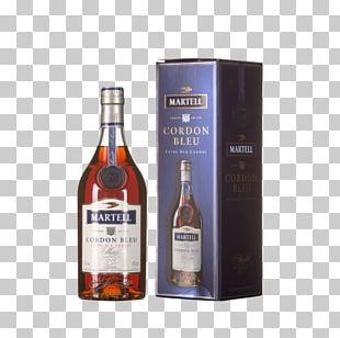 Cognac Liqueur Martell Whiskey Glass Bottle PNG