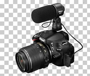 Nikon D5100 Microphone Nikon D3200 Nikon ME-1 Digital SLR PNG