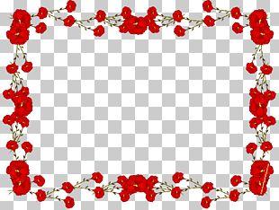 Frame Flower Rose PNG