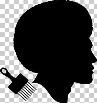 African American Black Silhouette PNG