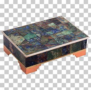 Decorative Box Casket Metal Silver PNG