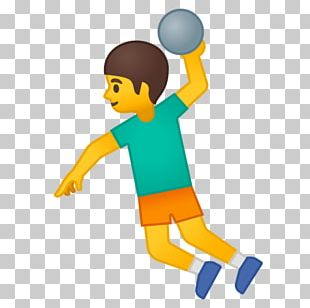 Emojipedia Handball Player Sport PNG