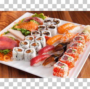 Japanese Cuisine Sushi Sashimi California Roll Restaurant PNG