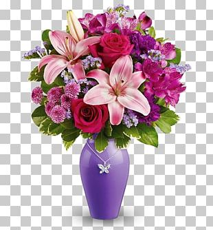 Flower Bouquet Anniversary Birthday Floristry PNG