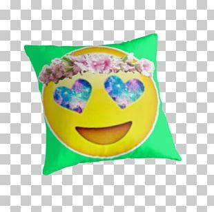 Emoji Wreath Crown Flower Sticker PNG