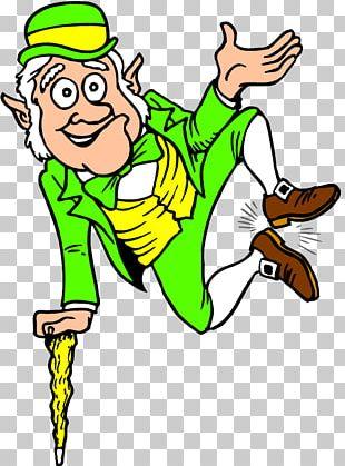 Leprechaun Traps Saint Patrick's Day Coloring Book PNG