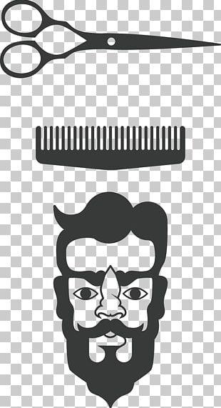 Comb Barber Scissors PNG