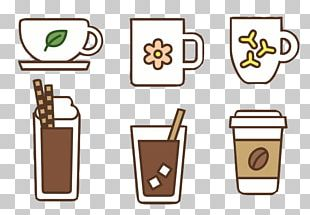 Iced Coffee Instant Coffee Cafe Coffee Cup PNG