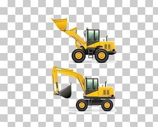 Heavy Equipment Architectural Engineering Machine Stock Photography PNG