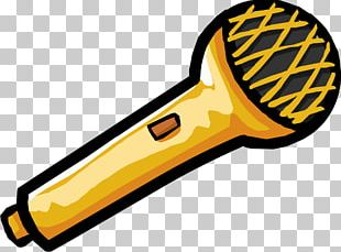 Club Penguin Microphone PNG