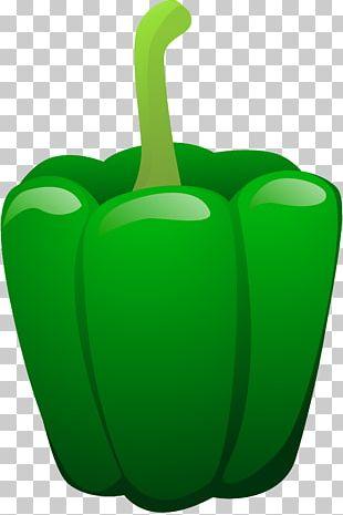 Green Bell Pepper Seasonal Food PNG