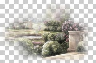 Watercolor Painting Landscape Painting Ink Wash Painting Text PNG