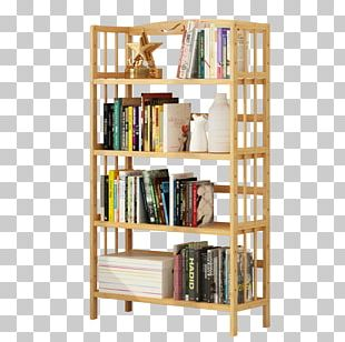 Shelf Bookcase Table Furniture Room PNG