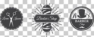 Barbers Pole Logo Barbershop PNG