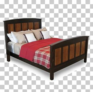 Bed Frame Mattress Platform Bed Wood PNG