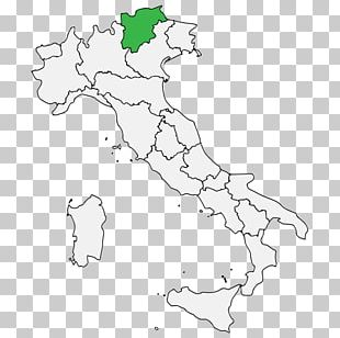 Regions Of Italy Blank Map Wine PNG