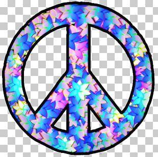 Peace Symbols Hippie PNG