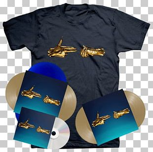 Run The Jewels 3 T-shirt Sleeve Compact Disc PNG