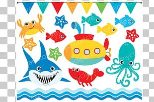 Sea Creatures Open Graphics PNG