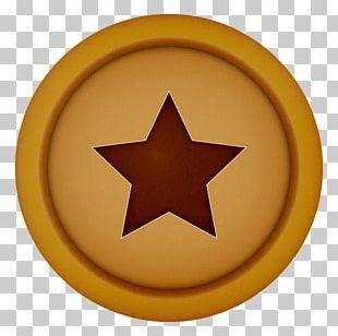 Circle Symbol Yellow PNG