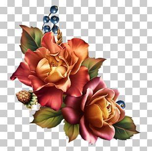 Flower Painting Floral Design Art Garden Roses PNG
