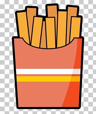 French Fries Fast Food Hamburger Cartoon PNG
