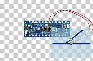 Microcontroller Light-emitting Diode Electronic Component Electronics Daisy Chain PNG