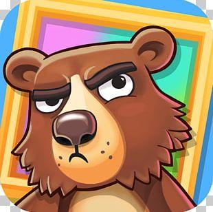 Bears Vs. Art (Main Theme) Halfbrick Free Puzzle Game PNG