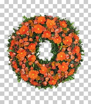 Cut Flowers Floral Design Blumenkranz Wreath PNG