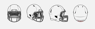 Green Bay Packers American Football Helmets Atlanta Falcons Buffalo Bills Riddell PNG
